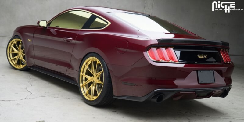 Ford Mustang GT Niche Misano 3