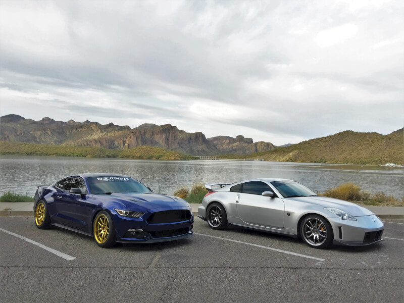 Extreme Wheels Nissan 350z And Mustang Gt Aodhan Ds02