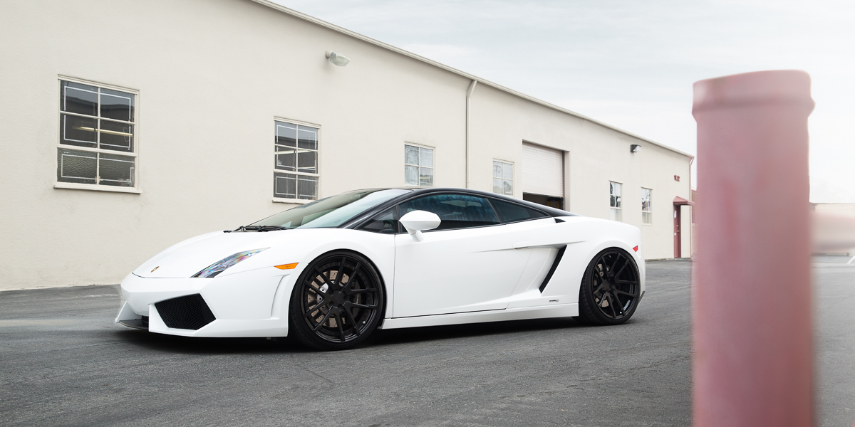 Lamborghini Gallardo Rotiform SNA 3 Piece Forged side 2