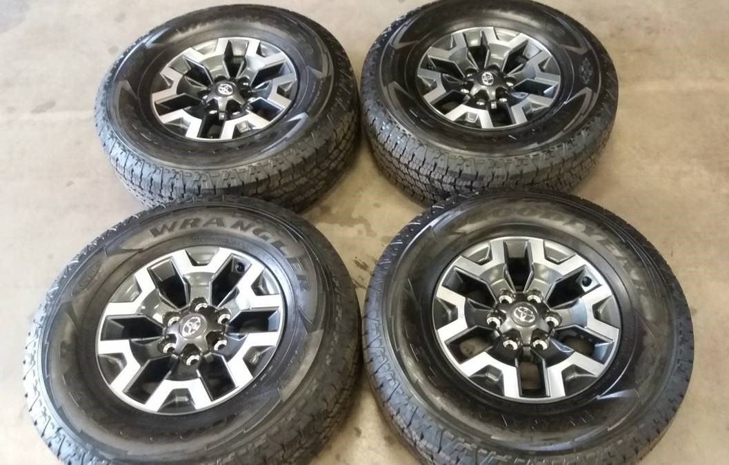 Off Road Rims And Tires Package >> Toyota Tacoma Trd Off Road Wheels Tires Extreme Wheels