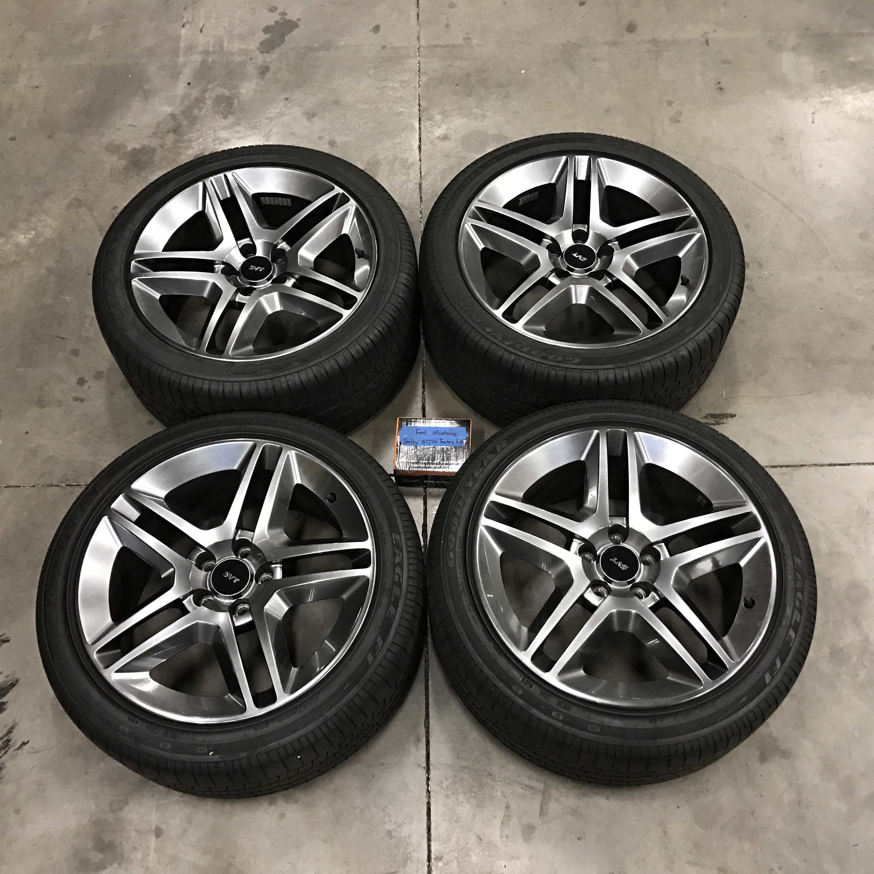 Ford mustang svt shelby gt500 wheels