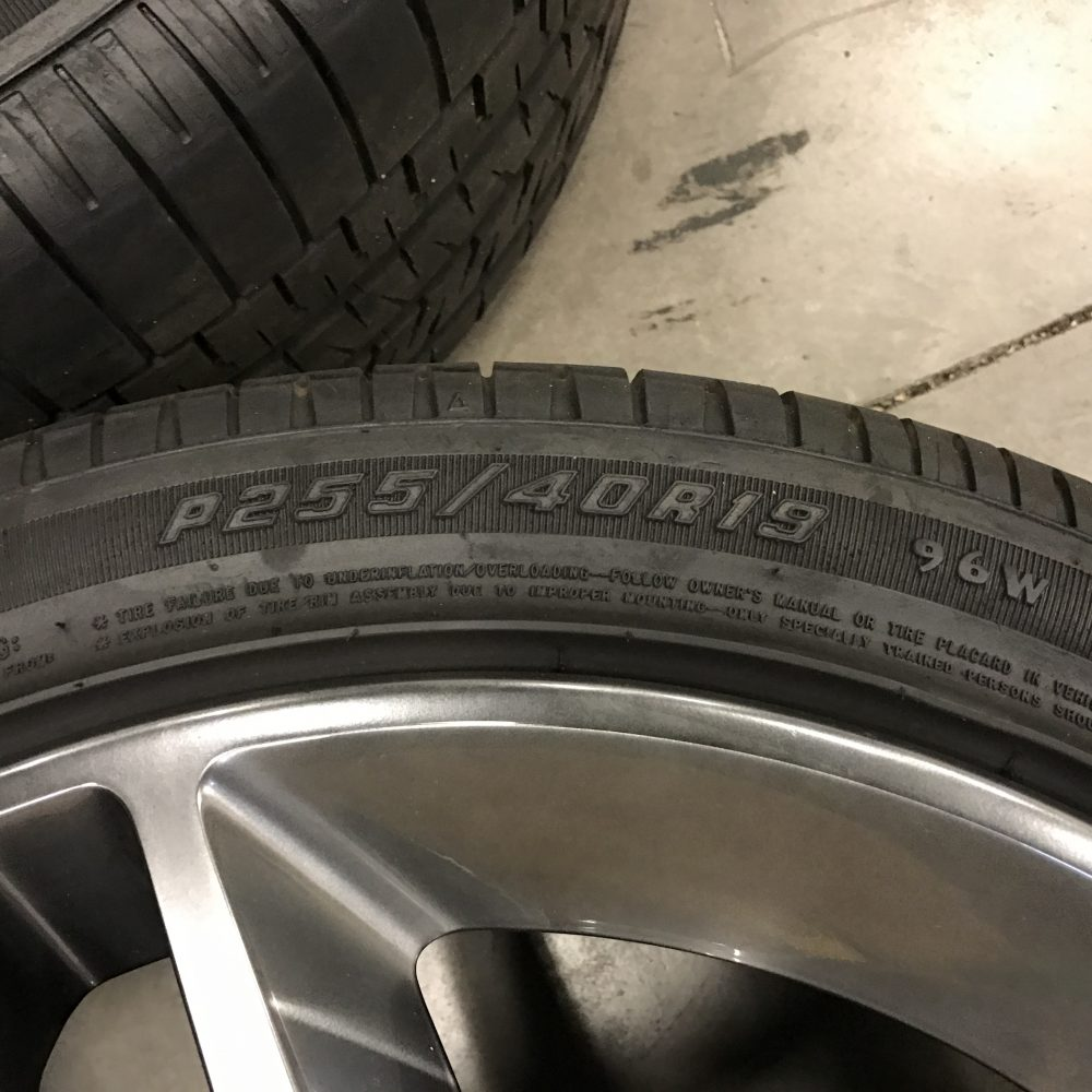 Ford Mustang SVT Shelby GT500 Wheels + Tires 7