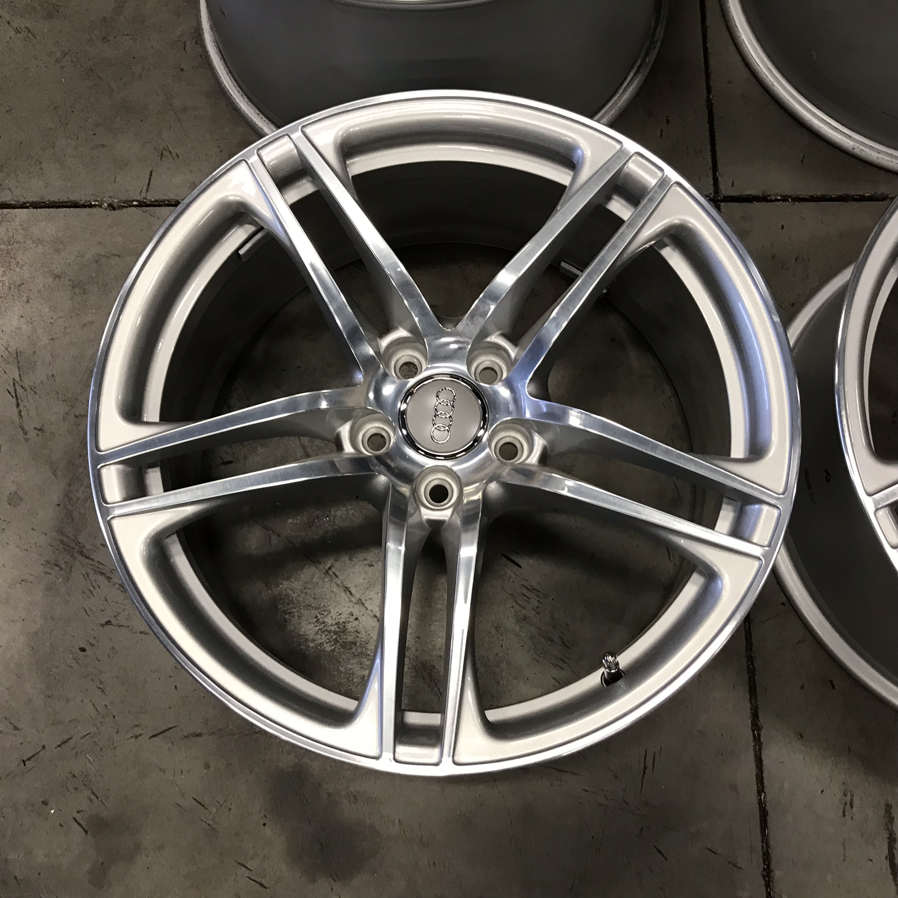 "Audi R8 OEM Polished 19"" Wheels 2008-2014"