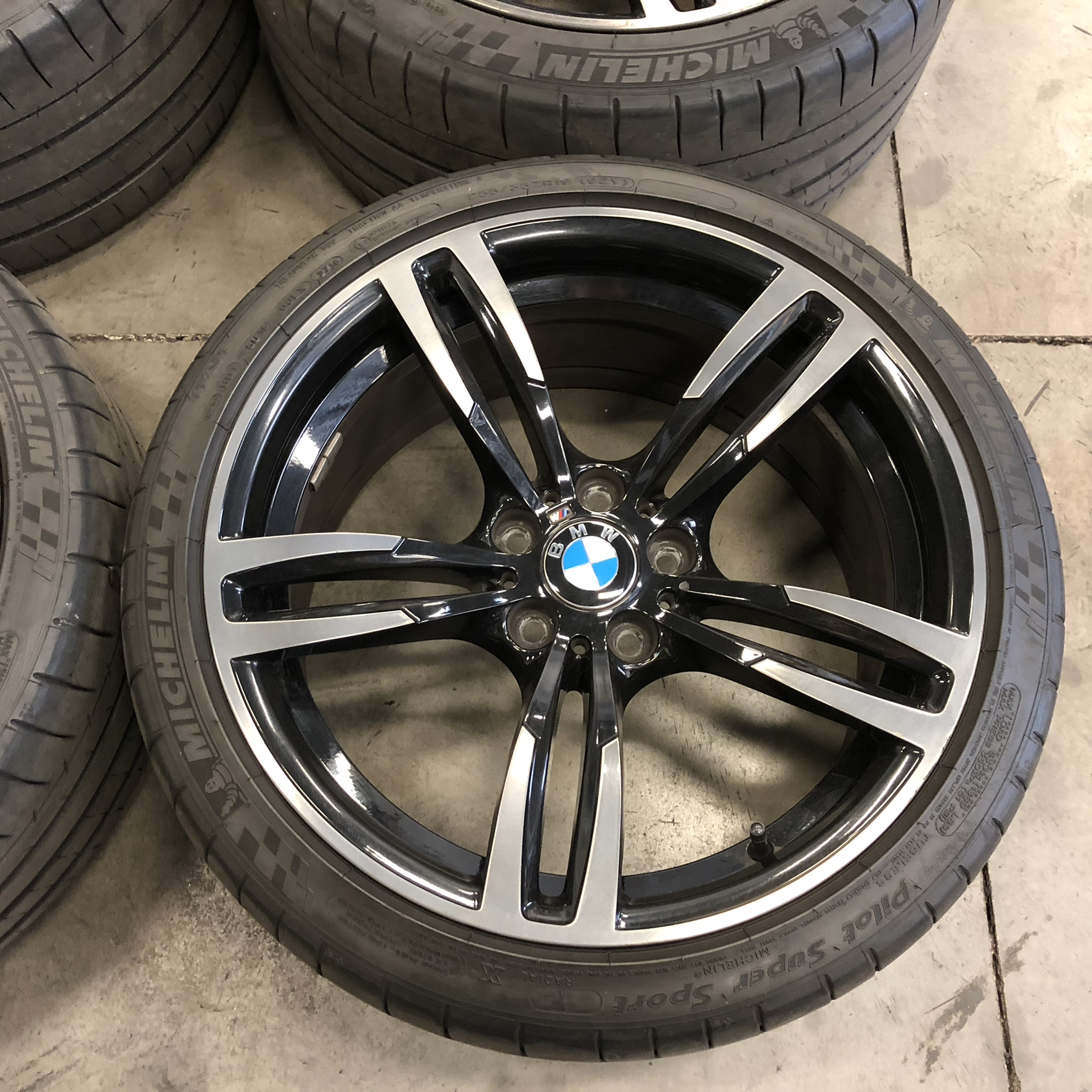BMW M4 437M Wheels And Tires